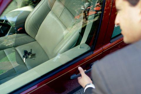 car being stolen