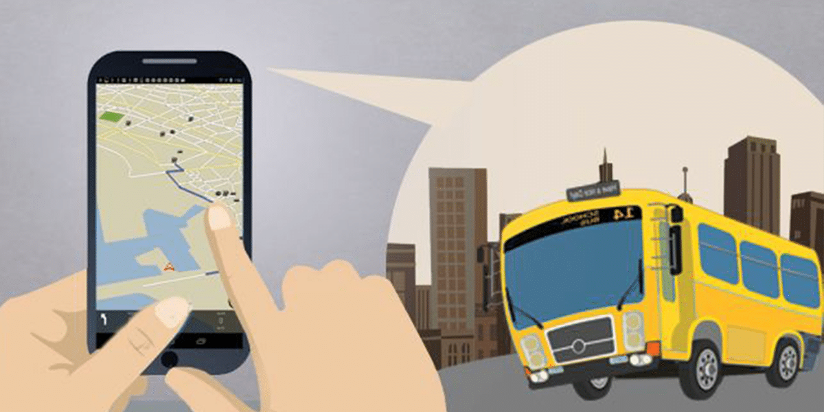 GPS Tracker for Bus